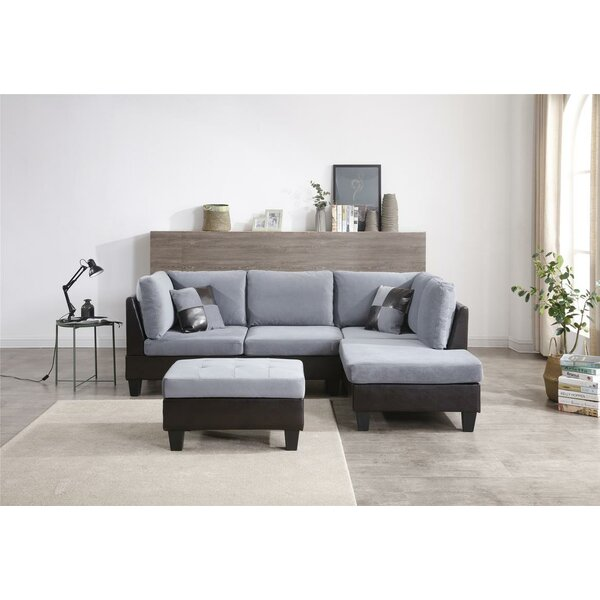 Haider Reversible Modular Sectional By Red Barrel Studio
