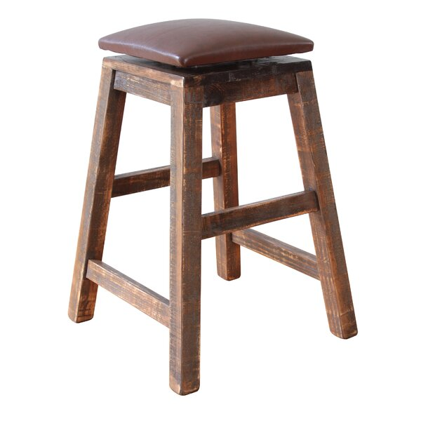 Stogner Swivel Bar Stool by Millwood Pines
