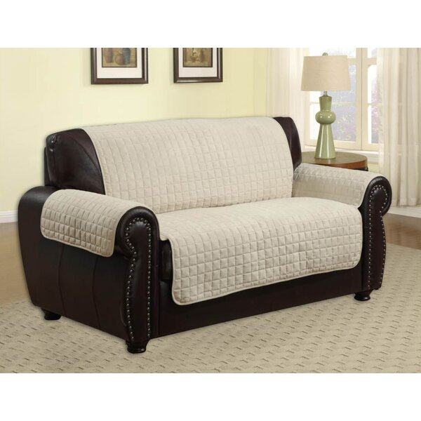 Pet Protector Box Cushion Loveseat Slipcover by Kashi Home