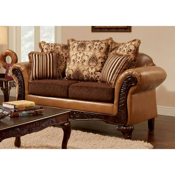 Price Comparisons Of Clarkfield Loveseat by Fleur De Lis Living by Fleur De Lis Living