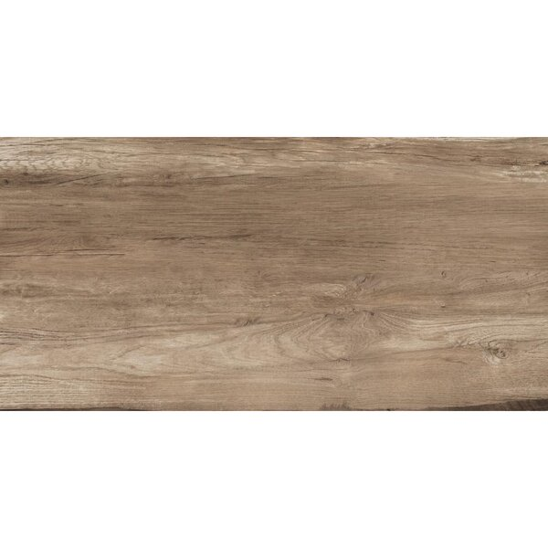 Travel 6 x 48 Porcelain Wood Look Tile in South Gold by Travis Tile Sales