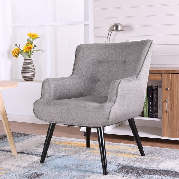 Pontius Wingback Chair by Wrought Studio