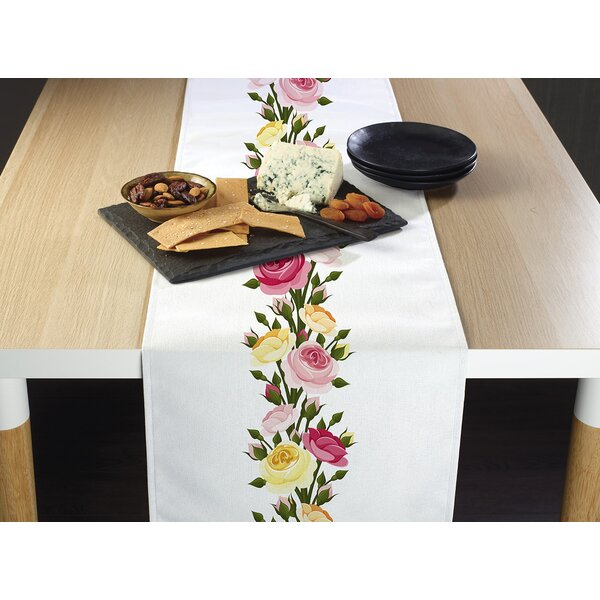 Jax Roses Table Runner by Winston Porter