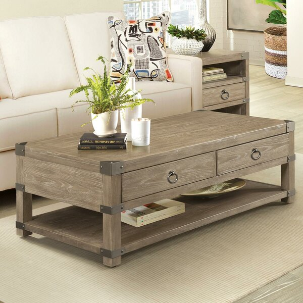 Ferris Caster Coffee Table by Gracie Oaks
