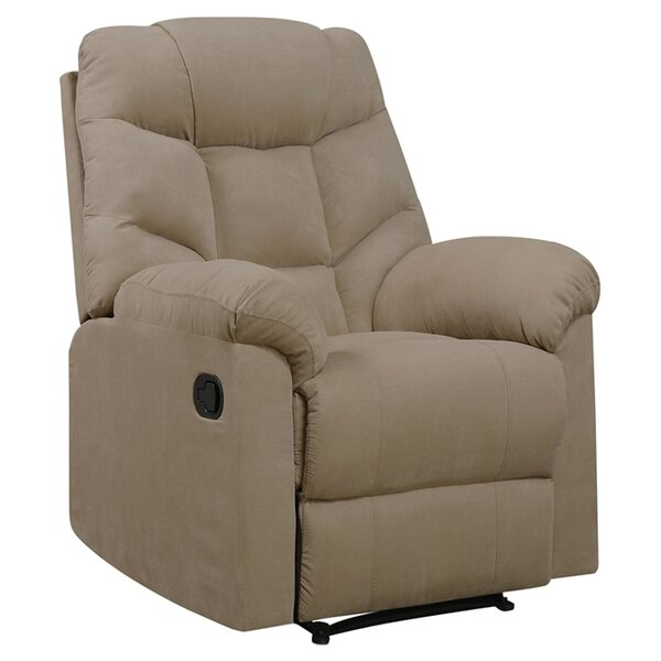 Gertrude Manual Wall Hugger Recliner by Andover Mills