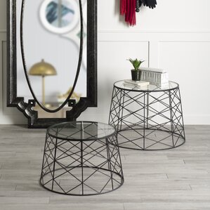Vaughn 2 Pieces End Table Set by Brayden Studio