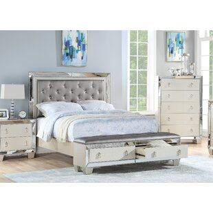 Sedalia Upholstered Storage Panel Bed by House of Hampton