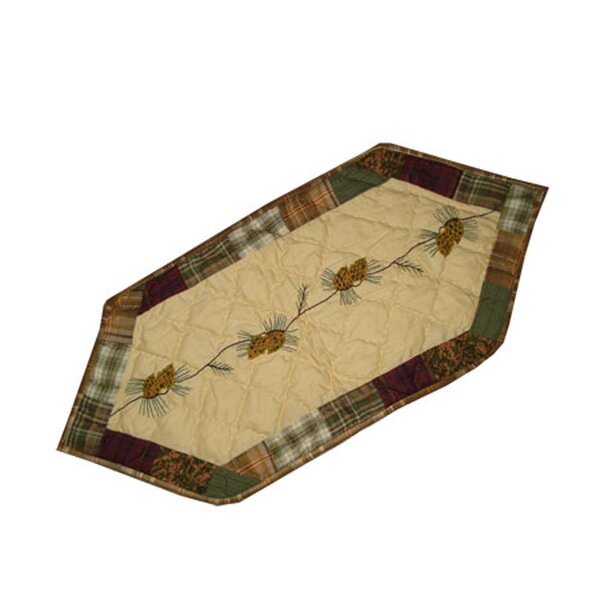 Forest Log Cabin Table Runner by Patch Magic