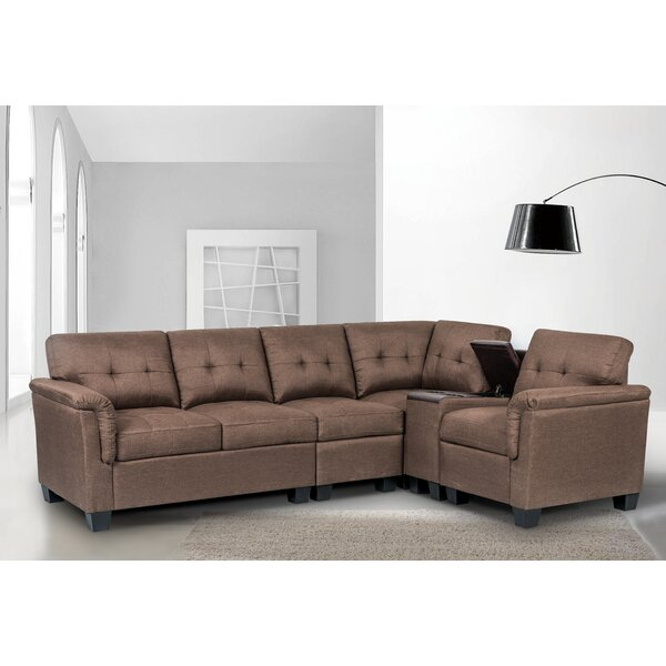 Hodgin Right Hand Facing Sectional By Ebern Designs