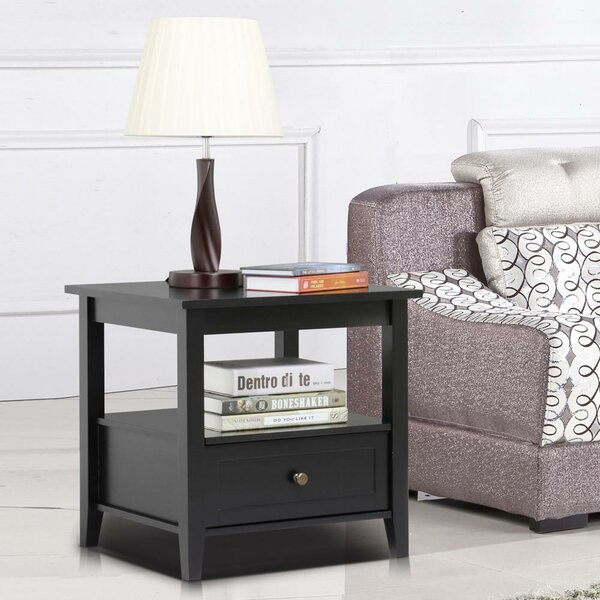 Witten End Table with Storage by Red Barrel Studio