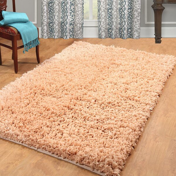 Hand Woven Shag Linen Area Rug by Affinity Linens