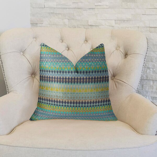 Alpenglow Throw Pillow by Plutus Brands