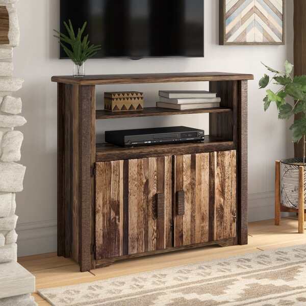 Abella Solid Wood TV Stand For TVs Up To 55