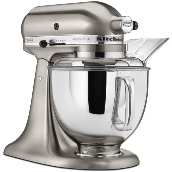 Custom Metallic 5 Qt. Stand Mixer - KSM152PS by KitchenAid