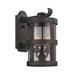 Looking for Farnsworth 3-Light Glass Shade Outdoor Wall Lantern By Longshore Tides
