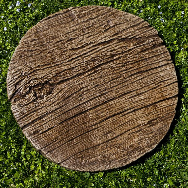 Faux Bois Stepping Stone by Campania International