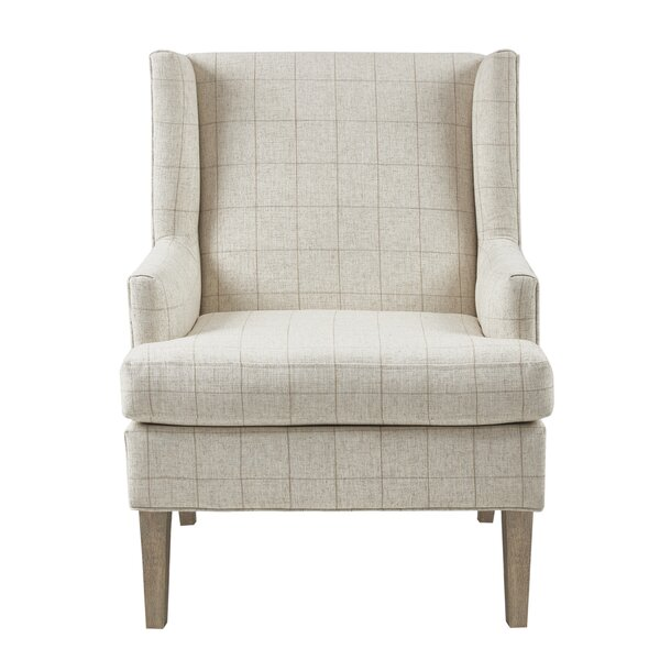 Martha Stewart Decker Wingback Chair by Martha Stewart