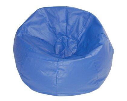 Kierra Large Faux Leather Bean Bag Chair & Lounger By Viv + Rae
