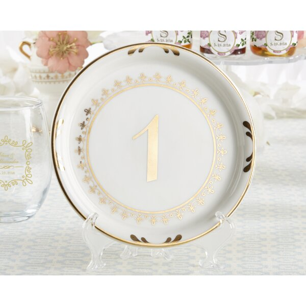 Tea Time 6.2 Bread and Butter Plate (Set of 6) by Kate Aspen
