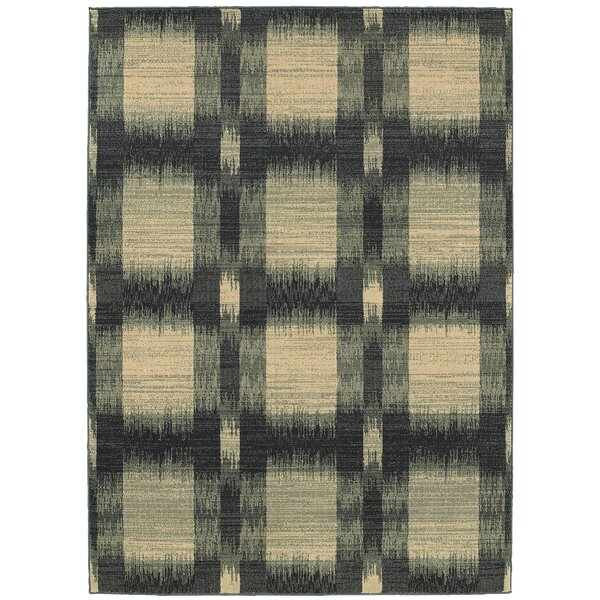 Antigua Green/Beige Area Rug by LR Resources