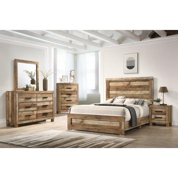 Mysliwiec Standard 5 Piece Bedroom Set by Union Rustic