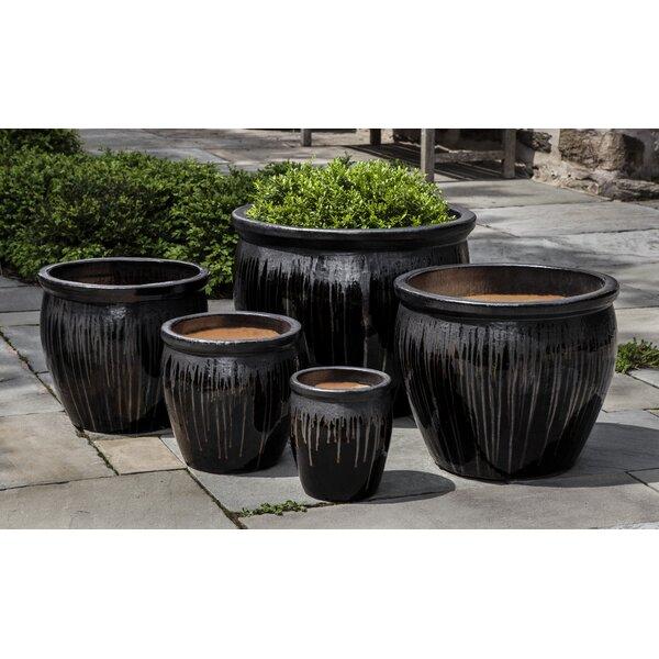 Amasia 5-Piece Terra Cotta Pot Planter Set by Bloomsbury Market