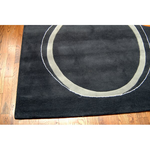 Armstrong Hand-Tufted Assorted / Charcoal Area Rug by Winston Porter