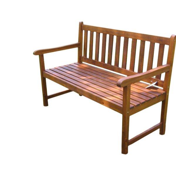 Pine Hills Acacia Wood Garden Bench by Beachcrest Home