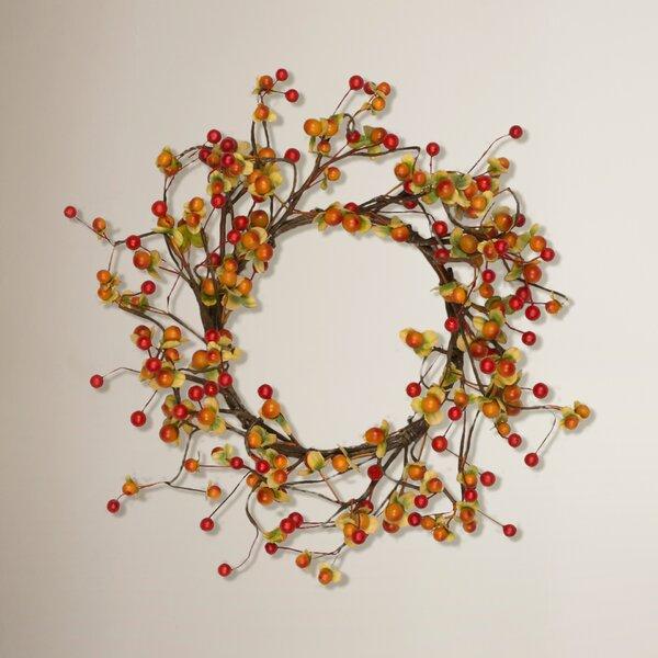 6 Indoor Berry Wreath (Set of 6) by August Grove