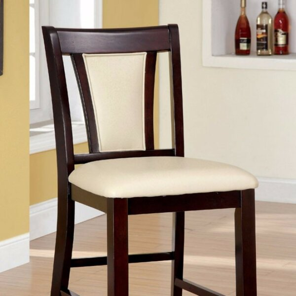 Broxburne Wooden 25.75 Bar Stool (Set of 2) by World Menagerie