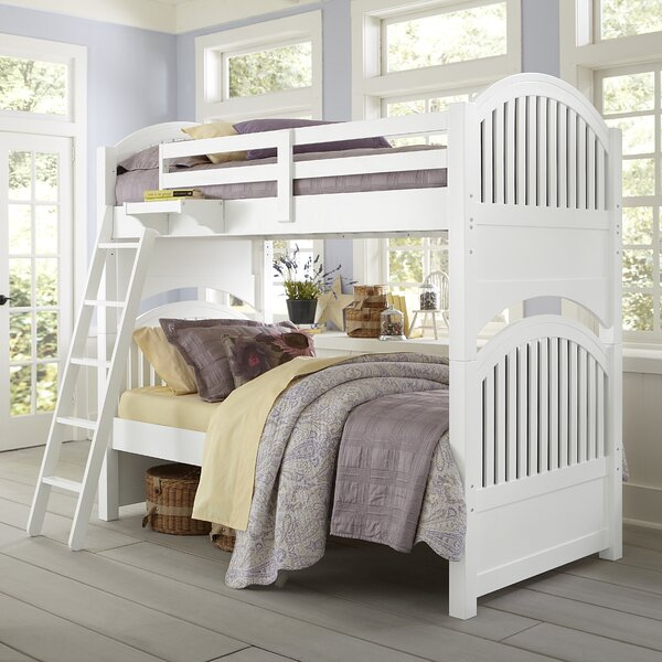 Nickelsville Twin over Twin Bunk Bed by Three Posts Baby & Kids