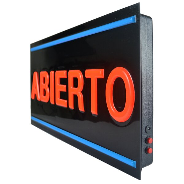 LED Spanish Open Bar Sign by Royal Sovereign Int'l Inc