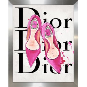 'Dior 3' Graphic Art Print by Picture Perfect International