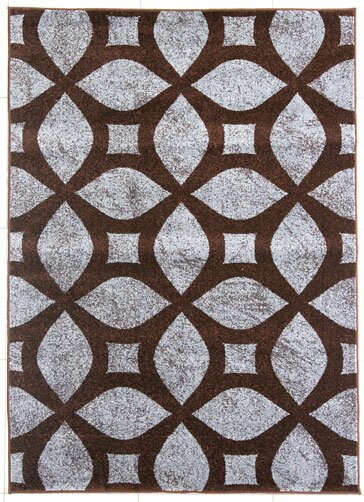 Brown/Gray Area Rug by Rug Tycoon