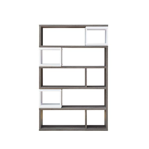 Lefker Geometric Bookcase by Orren Ellis