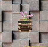 Woodlynne Wood Wall Planter by Millwood Pines