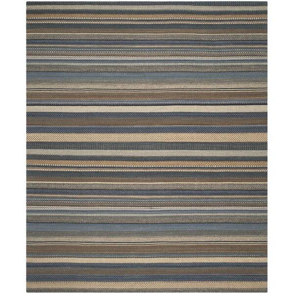 Kilim Hand-Tufted Wool Blue Area Rug by Safavieh
