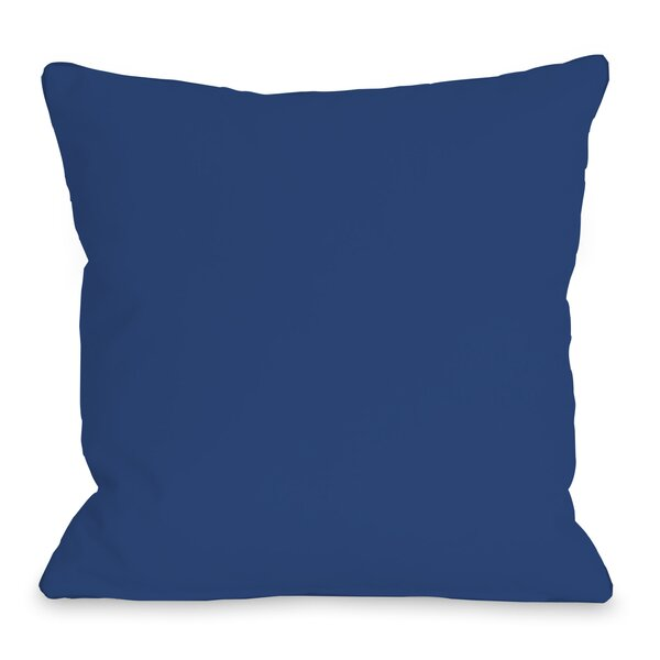 All Over Stars Throw Pillow by One Bella Casa