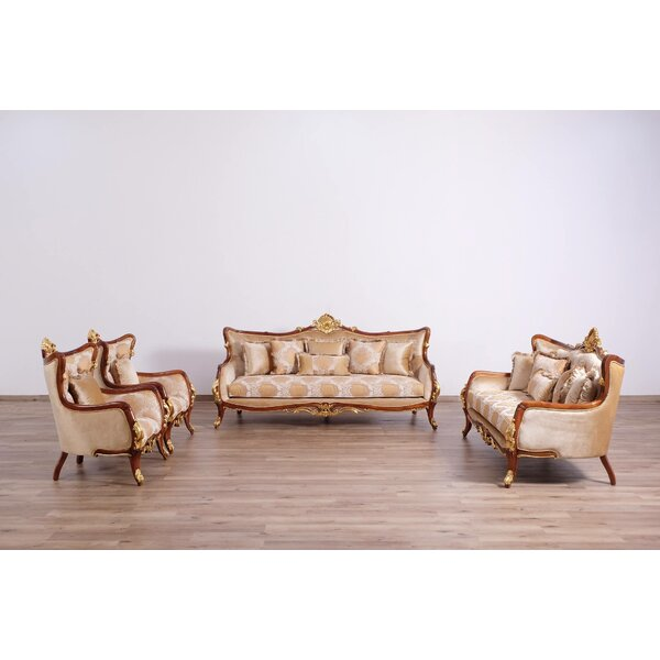 Pisani II 3 Piece Living Room Set by Astoria Grand