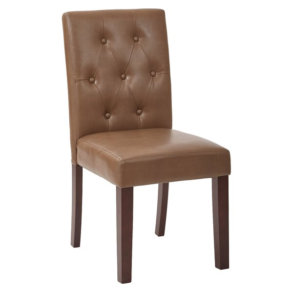 Crowder Upholstered Side Chair by Charlton Home