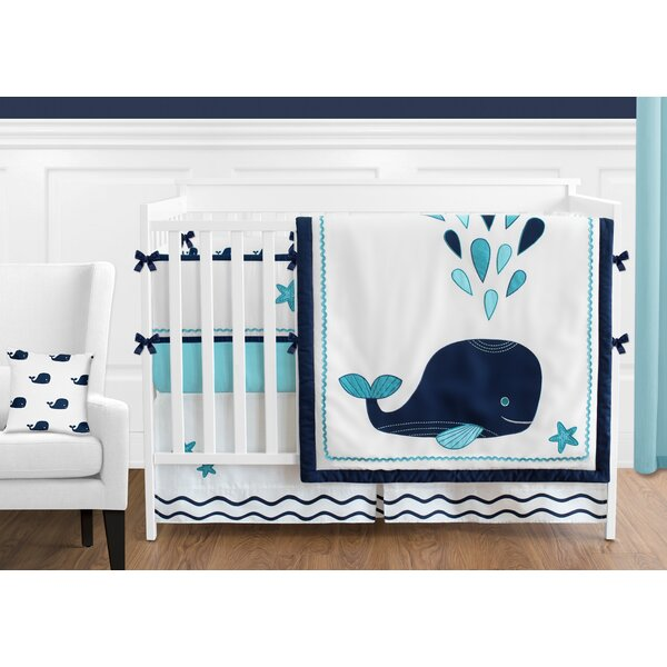 Whale 9 Piece Crib Bedding Set by Sweet Jojo Designs