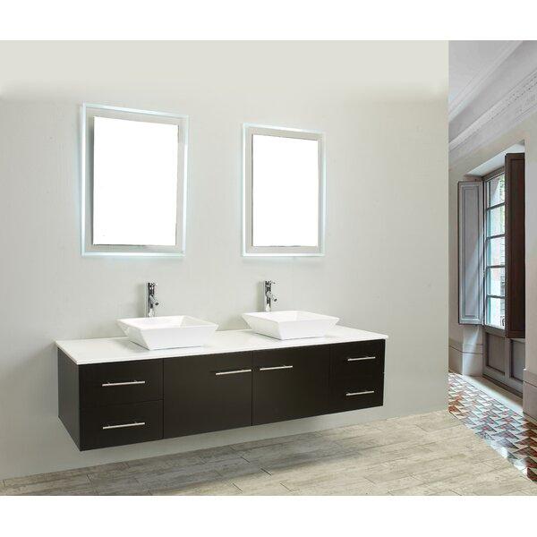 Vinit 72 Double Bathroom Vanity Set by Orren Ellis