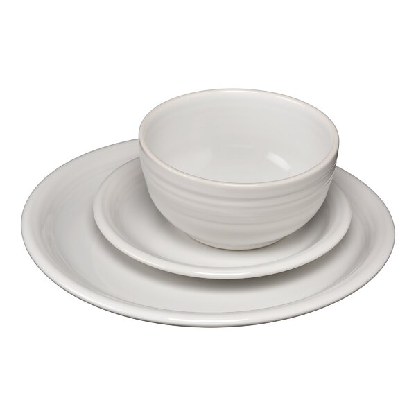 Bistro 3 Piece Plate Setting, Service for 1 by Fie