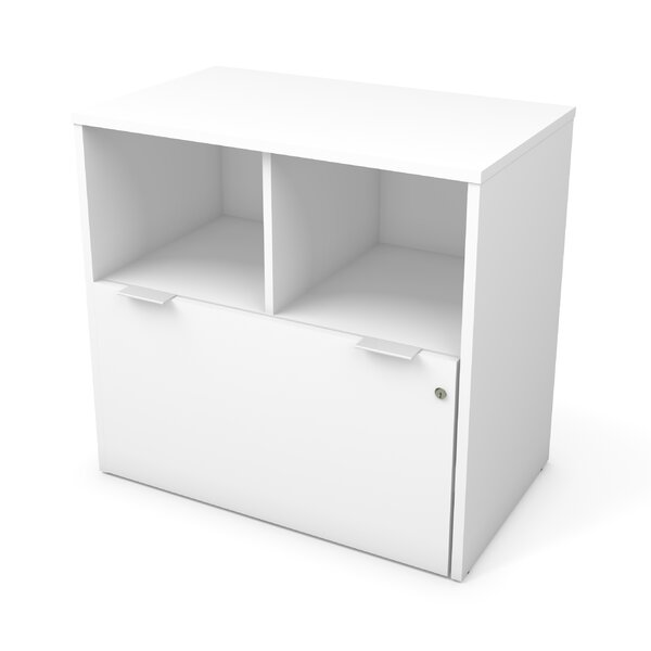 Prattsburgh 1 Drawer Lateral Filing Cabinet by Brayden Studio
