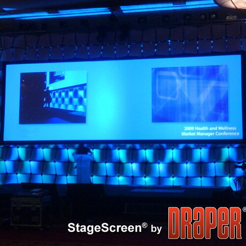 StageScreen Matt White Portable Projection Screen by Draper