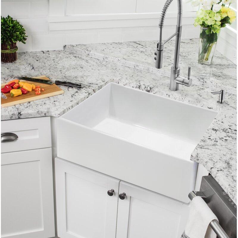 X 18 W Farmhouse A Kitchen Sink