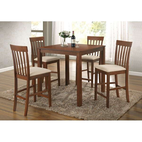 Pagel 5 Pieces Pub Table Set by Charlton Home
