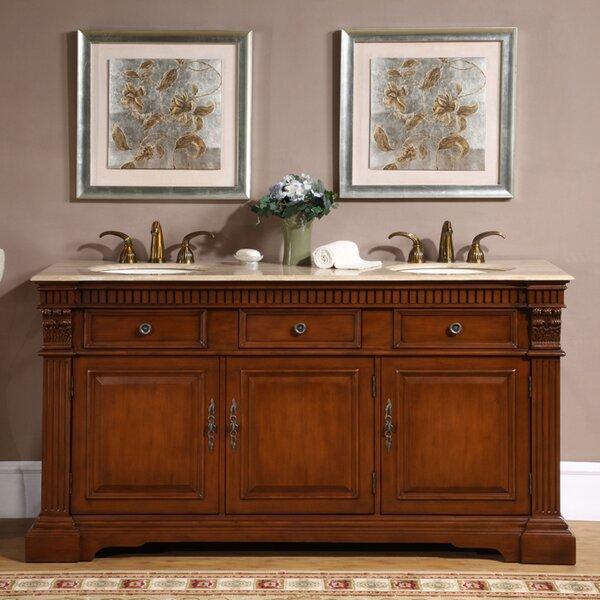 Tocoloma 67 Double Bathroom Vanity Set