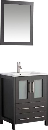 Karson 24 Single Bathroom Vanity Set with Mirror b