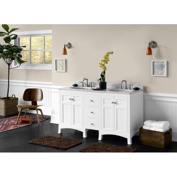 Hampton 61 Double Bathroom Vanity Set by Ronbow